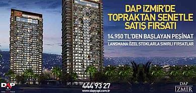 DAP İzmir güncel konut fiyat listesi