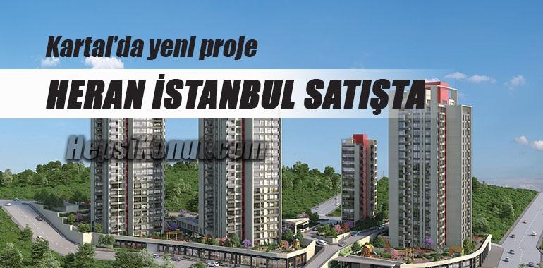 Heran İstanbul konut projesi görücüye çıktı